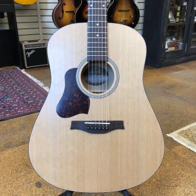Seagull S6 Original QIT Left-Handed Cedar/Cherry Dreadnaught Acoustic-Electric