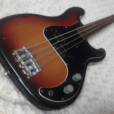 ESP Navigator Espionage Fretless Bass