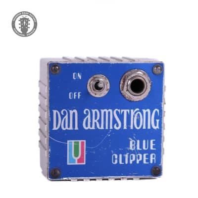 Original 1970s Dan Armstrong Blue Clipper for sale