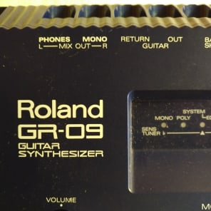 Roland GR-09 Guitar Synth 1990 black