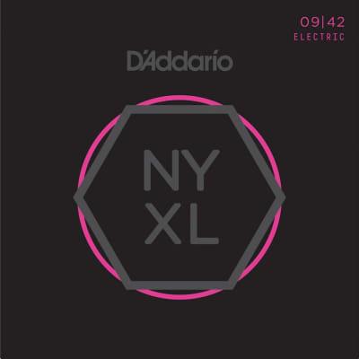 D'Addario NYXL0942 Nickel Wound Electric Strings - 9-42 Super Light