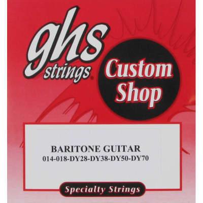 GHS Baritone Guitar Electric Strings 14-70