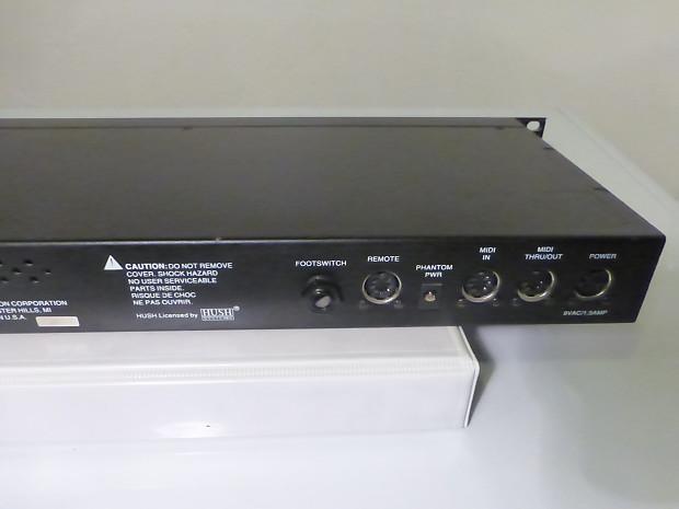 rocktron voodu valve preamp processor reverb. Black Bedroom Furniture Sets. Home Design Ideas