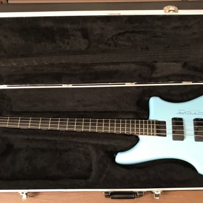 Kubicki Ex-Factor Bass Powder Blue Pearl 1987-1988 for sale