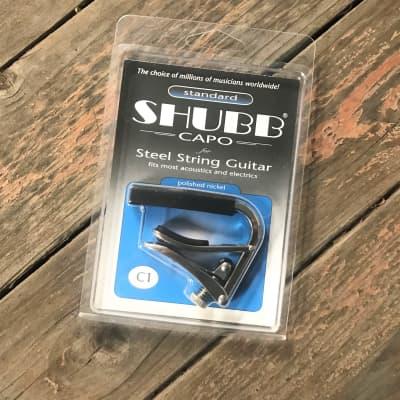 Shubb C-1 Capo for Steel String Guitar