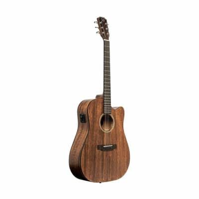 JN Guitars Dovern Series Cutaway Acoustic Electric Dreadnought Guitar - DOV-DCFI
