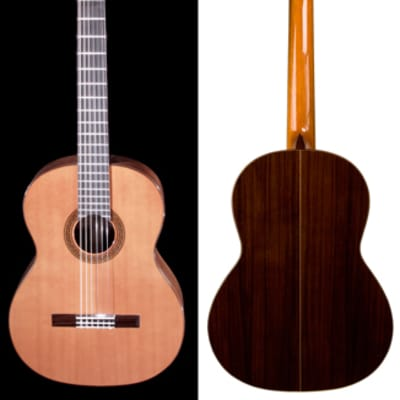 New World Estudio Model 628mm Guitar with Cedar Top and Padded Bag for sale