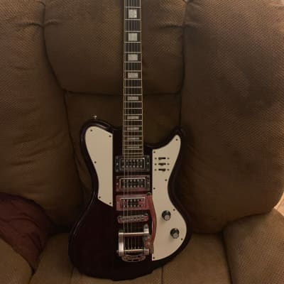 Schecter Ultra III 2000's Maroon Bigsby for sale
