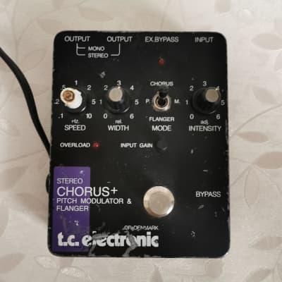 TC Electronic Stereo Chorus + Pitch Modulator & Flanger Vintage 1990's SCF for sale