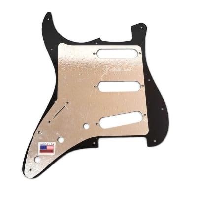 D'Andrea Strat Pickguards for Electric Guitar, Silver Sparkle for sale