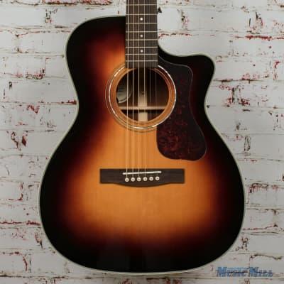 Guild OM-140CE Antiqueburst Acoustic/Electric Guitar B-Stock x0436 for sale