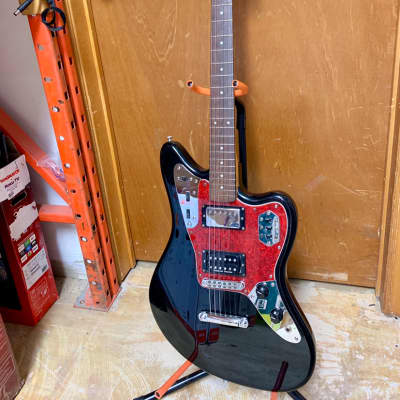 Fender Jaguar MIJ with Duncan pearly Gates pick up in bridge Black for sale