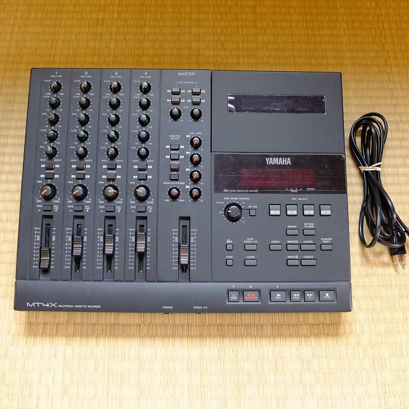 Yamaha MT4X Cassette 4-track Multitrack Recorder