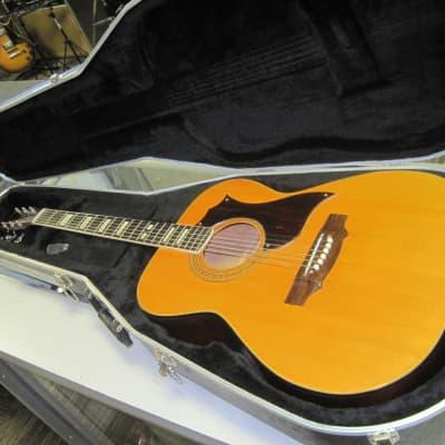 Ensenada FG 43 Acoustic w/ Hard Shell Case for sale