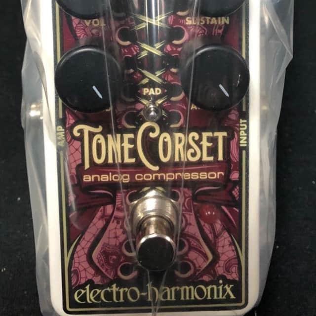 Electro-Harmonix Tone Corset Analog Compressor Effects Pedal image