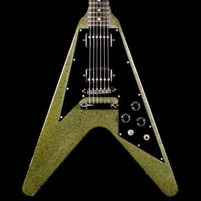 Gibson Flying V Silver Sparkle One-Off 1998
