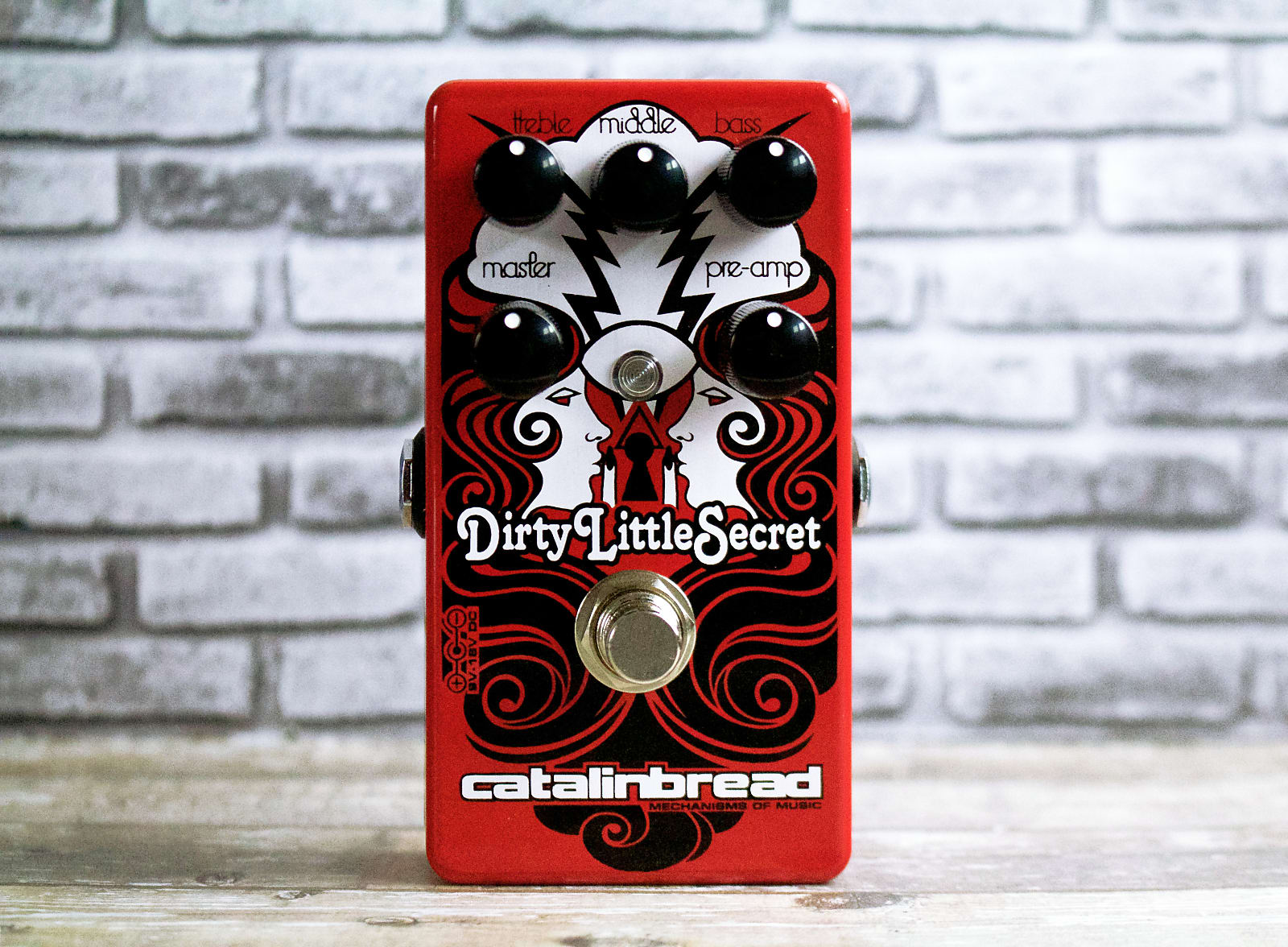 "Catalinbread Dirty Little Secret RED (""Hot Rod Marshall""-style drive) (New model!)"