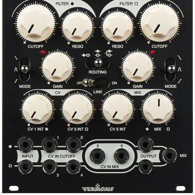 Vermona twinVCFilter Dual Multimode Filter Eurorack Module
