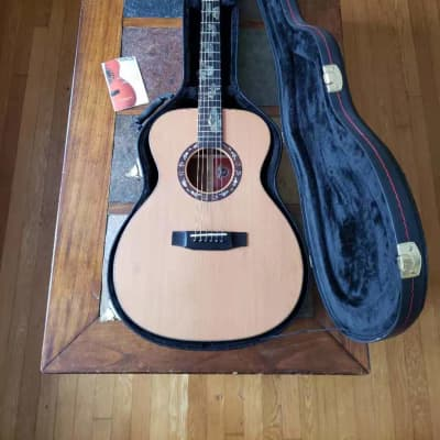 Jaws JA-M9 handmade parlor acoustic 3/4 guitar w/ ohsc for sale