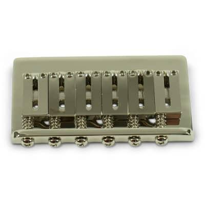 Kluson Replacement Hardtail Bridge For Fender American Standard Stratocaster Nickel