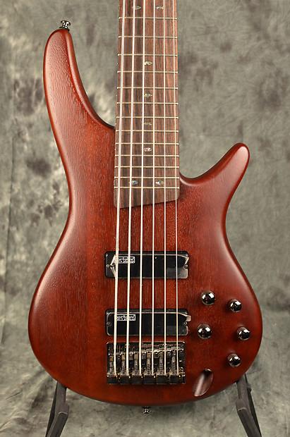 ibanez sr 506 brown mahogany 6 string bass w bartolini reverb. Black Bedroom Furniture Sets. Home Design Ideas