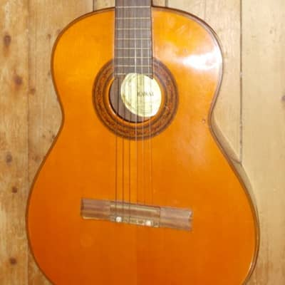 Kawai Classical Guitar 1960's Natural for sale