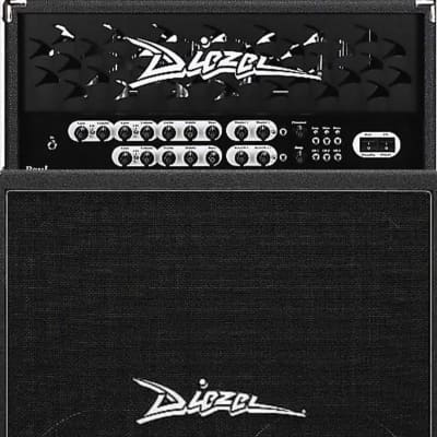 "Diezel Paul 2.5-Channel 45-Watt Guitar Amp Head W/412-RV Rear-Loaded 240-Watt 4x12""  Cabinet,  Black"