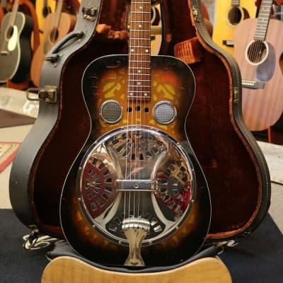 Dobro  Model-66 RoundNeck #1786【1973】 【Sunburst】 [GSB019] for sale