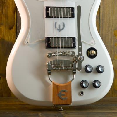 Epiphone Crestwood Custom Polaris White for sale
