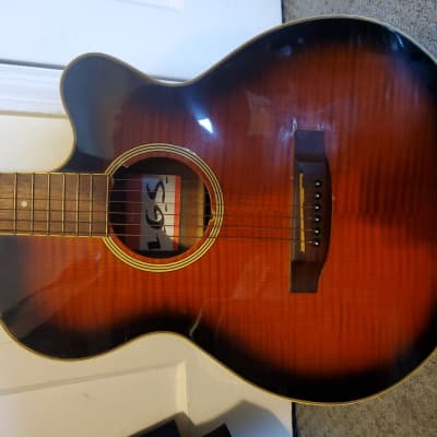 Starsun Acoustic Electric   Redish for sale