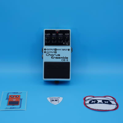 Boss CE-5 Chorus Ensemble | Rare 1991 Blue Label (Analog Version) | Fast Shipping!