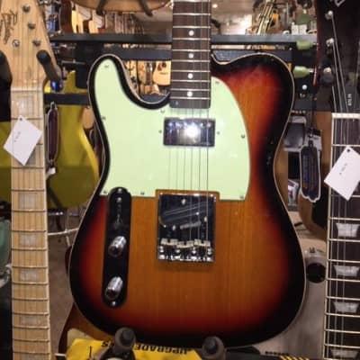 Revelation RTE Custom L/H Sunburst Left Handed Electric Guitar for sale