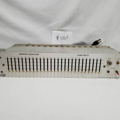 Urei 527-A Vintage Graphic Equalizer #1267 Good Used, Working Condition - Vintage Condition