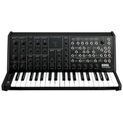 Korg MS-20 FS Monophonic Analog Synthesizer, 2 Oscillators, 37 Mini-Keys, Black