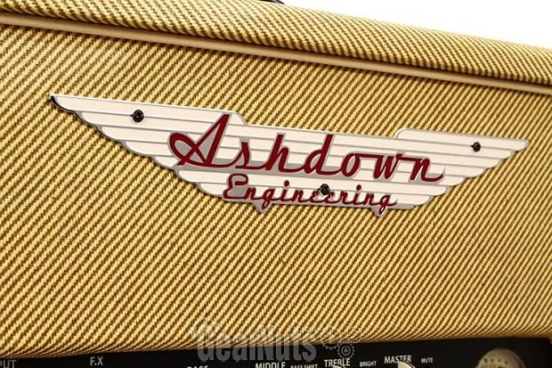 ashdown ctm 30 30 watt tube bass head tweed reverb. Black Bedroom Furniture Sets. Home Design Ideas