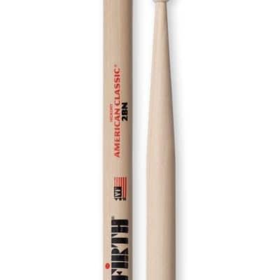 Vic Firth American Classic Series Nylon Tip Drumsticks - 2B