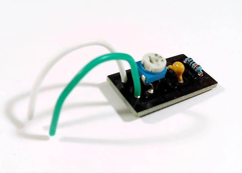 ehs adjustable treble bleed circuit for dimarzio gibson reverb. Black Bedroom Furniture Sets. Home Design Ideas
