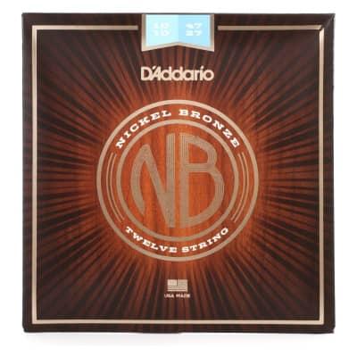 D´Addario Nickel Bronze Acoustic Strings NB1047-12 10-47