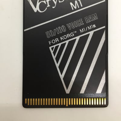 Voice Crystal 256K RAM Card for Korg M1/Wavestation
