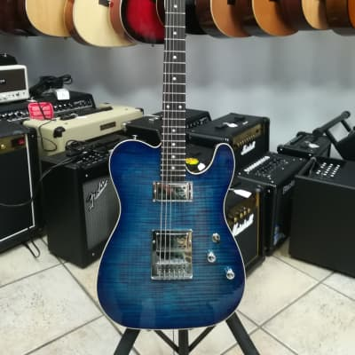 Schecter CUSTOM SHOP USA PT CUSTOM  2019 Blue Crimson