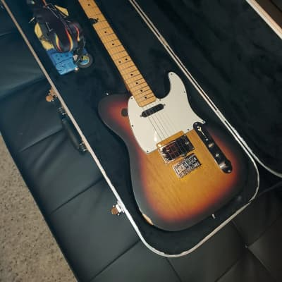 Fender Telecaster Plus (Radiohead/Jonny Greenwood Clone - No Stickers) 2012-2013 Brown Sunburst for sale