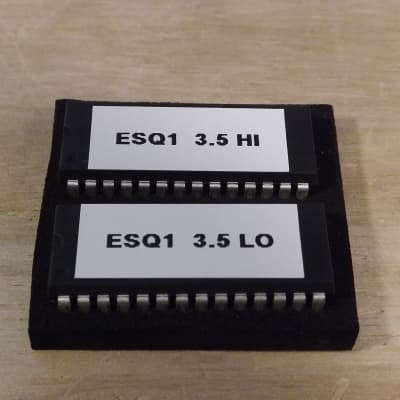 Ensoniq ESQ-1 parts - Software version 3.5 upgrade
