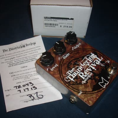 Menatone Thundering Revival  Distortion Pedal - S/N 43