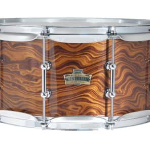 "Ludwig LCEX6514TXWA Epic Centurian 6.5x14"" American Walnut Over Maple Snare Drum"