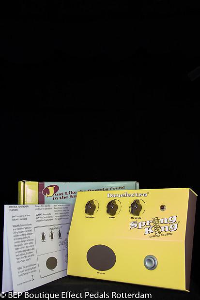Danelectro Spring King DSR-1 Reverb Effects Unit