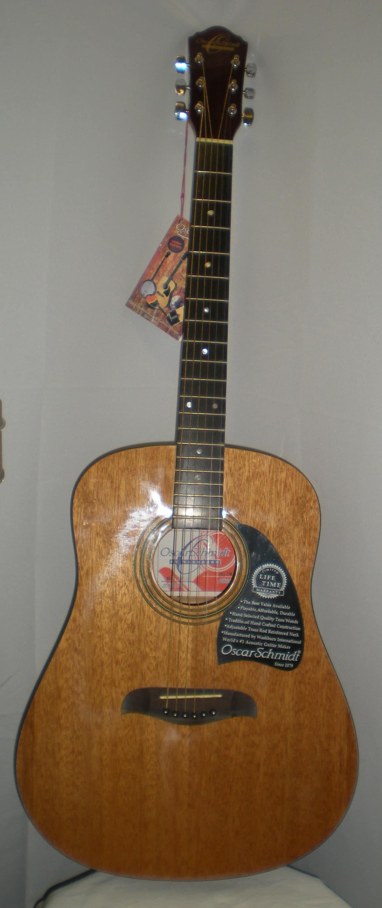 oscar schmidt og2m 1999 mahogany ewing music guitars reverb. Black Bedroom Furniture Sets. Home Design Ideas