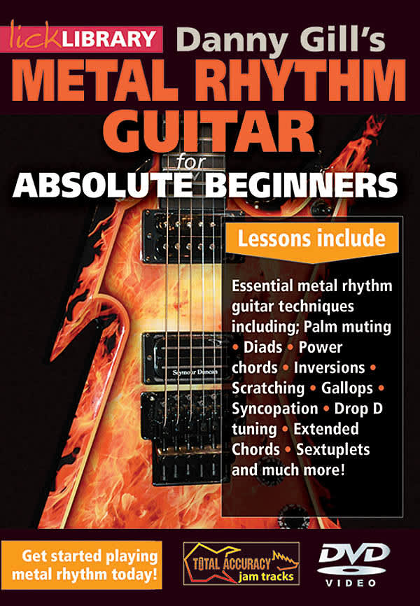 Danny Gills Metal Rhythm Guitar For Absolute Beginner Reverb