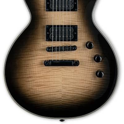 ESP Ltd EC-1000T Deluxe Electric Guitar Black Natural Burst