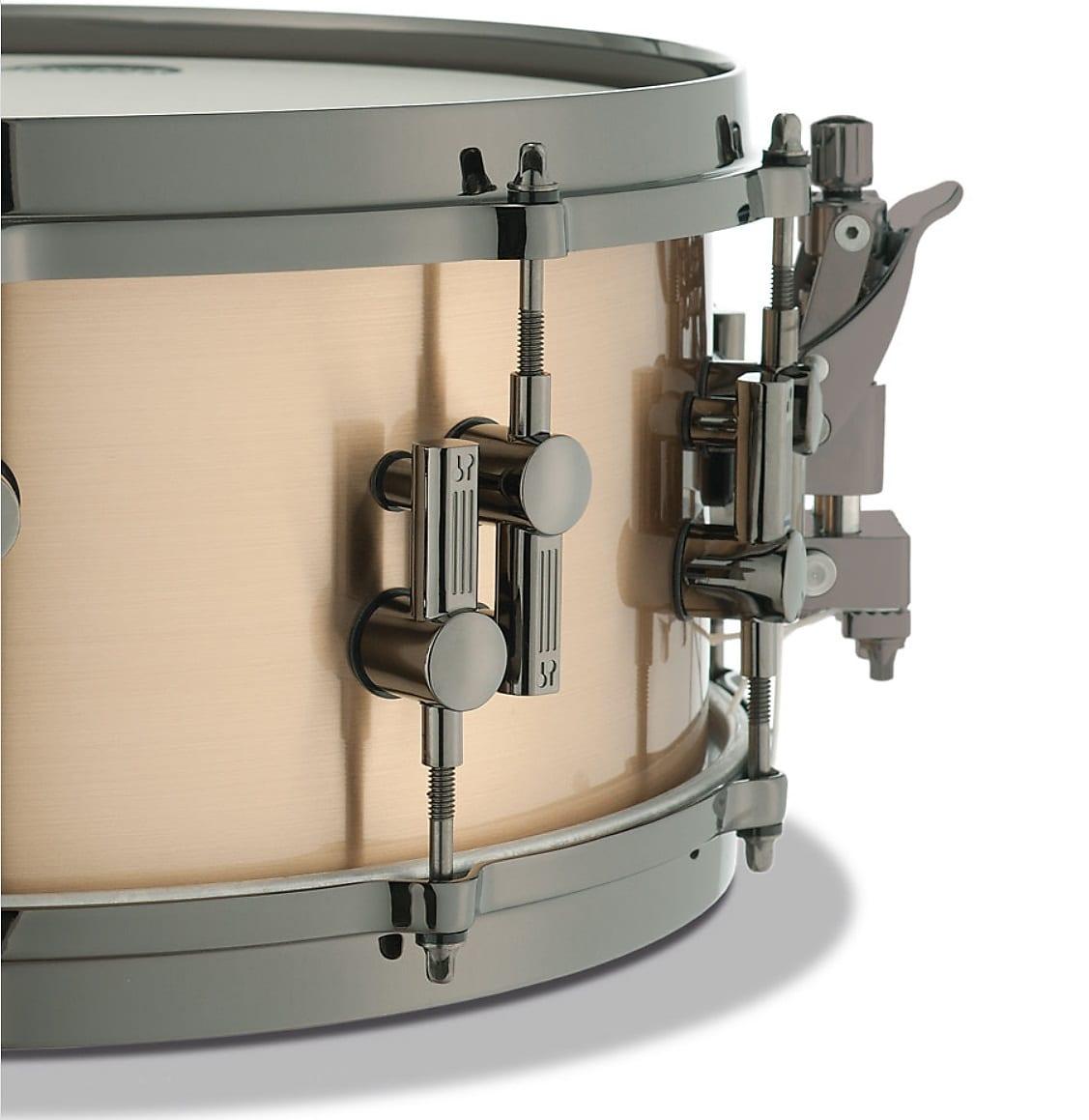 "Sonor AS-12-1406-BRB Artist Bronze 14x6/"" Snare Drum Dual-Glide Strainer Dealer"