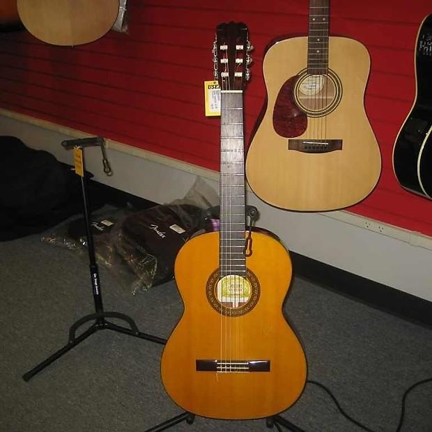 High Quality Nagoya Suzuki No. 34 Clical Guitar Natural | Reverb